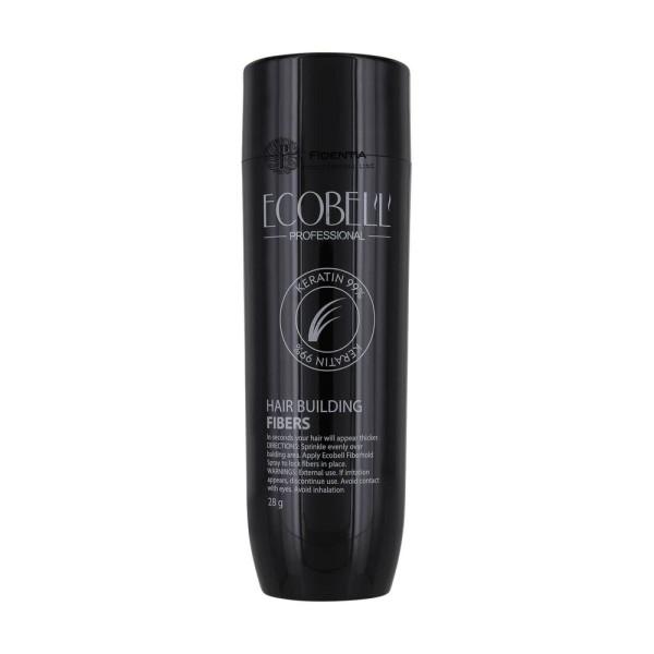 Ecobell Schütthaar  Keratinfasern zur Haarverdichtung - 28g